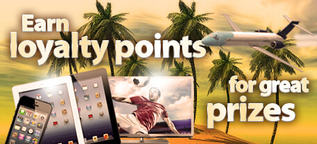 PlaySunny Live Casino Loyalty Points