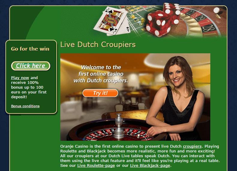 Oranje Casino Live Casino