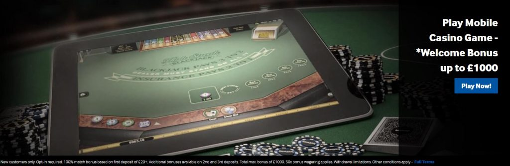 Betway Live Casino Mobile