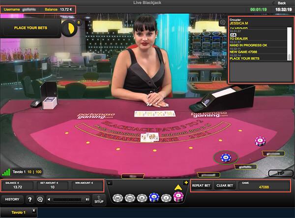 Live Casino Software Providers Portomaso