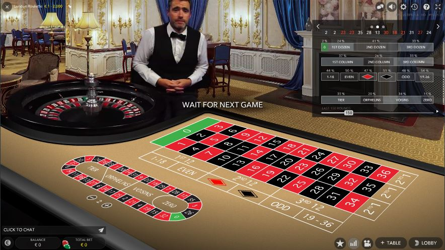 SuperLenny Live Casino Roulette