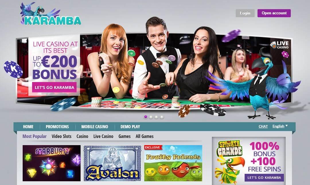 Karamba Live Casino