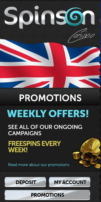 Spinson Live Casino Offers-2