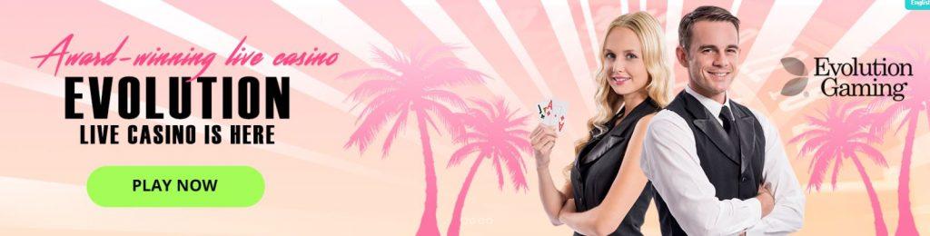 Miami Dice Live Casino Evolution