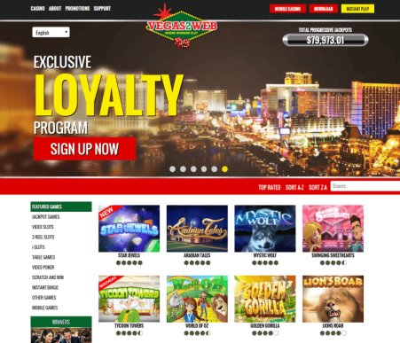 Vegas2Web Live Casino