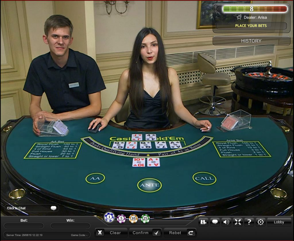 playtech live casino hold'em